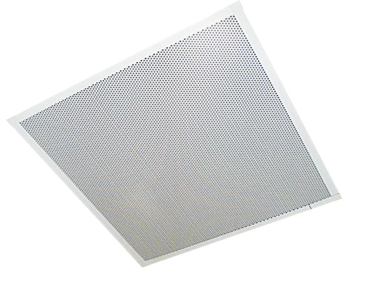 Valcom V-9028 One Way Amplified Dual Input Lay In Ceiling Speaker with Backbox, 2-Feet x 2-Feet by Valcom [並行輸入品] B00VVZ90MC