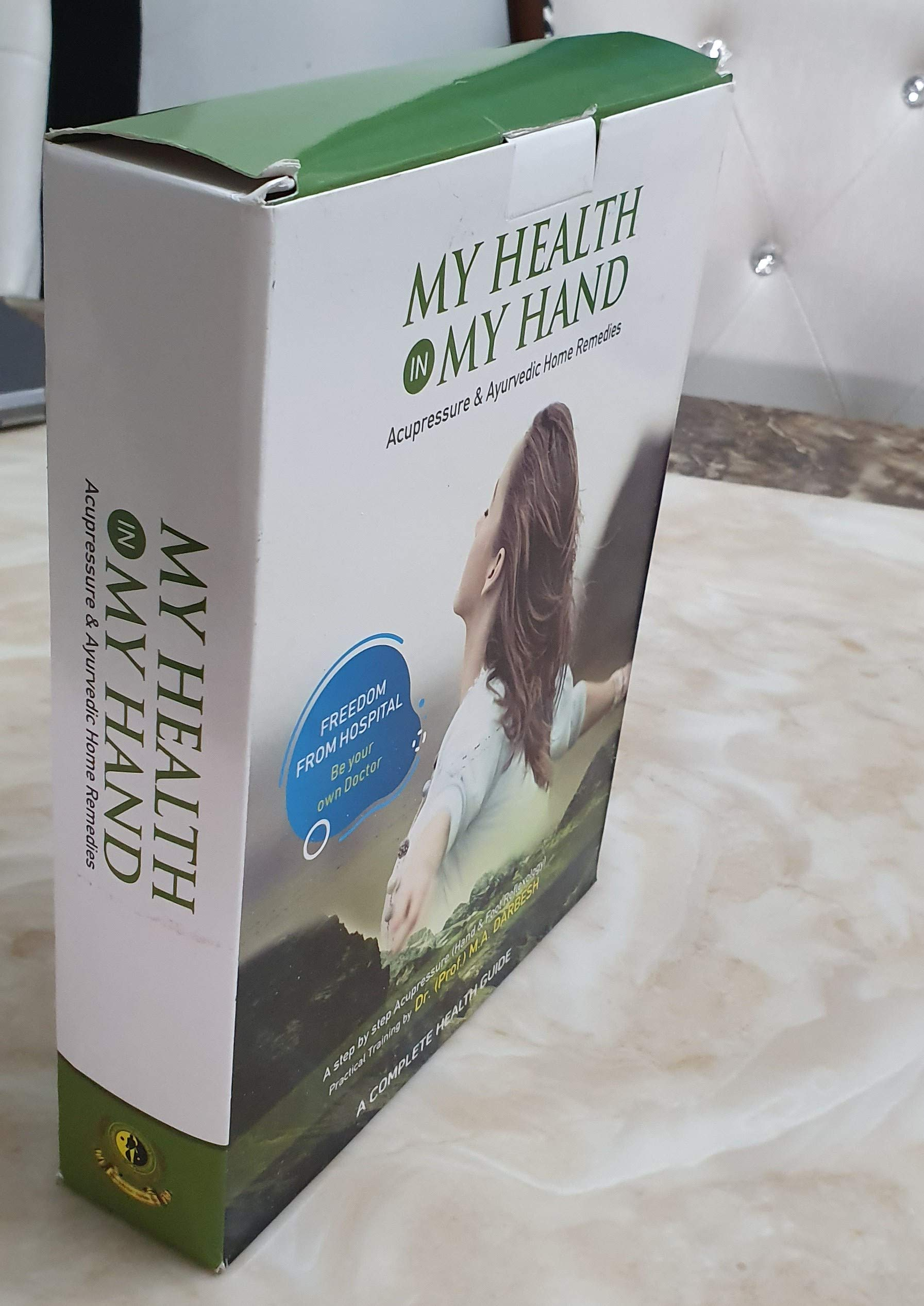 Buy My Health in My Hand (Part-1&Part-2)Complete Acupressure & Ayurvedic  home remedies book Book Online at Low Prices in India | My Health in My Hand  (Part-1&Part-2)Complete Acupressure & Ayurvedic home remedies