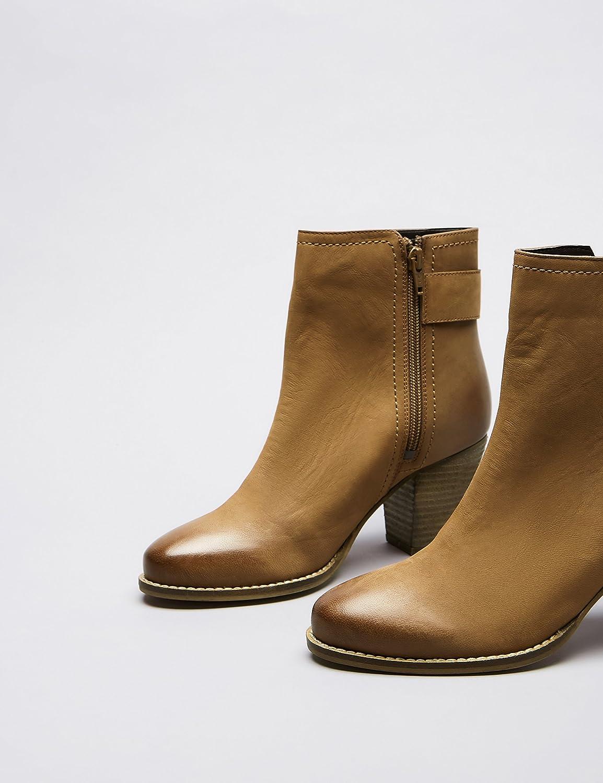 FIND Botines de Ante con Hebilla para Mujer: Amazon.es: Zapatos y complementos