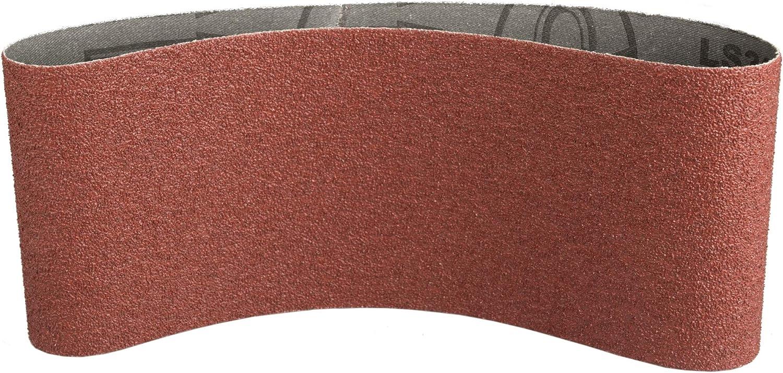 Klingspor LS 309 XH Lot de 10 rubans abrasifs grain 40 F5 75 x 480 mm