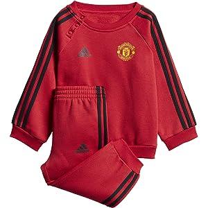 adidas MUFC H Baby Conjunto Equipación-Línea Manchester United FC ...