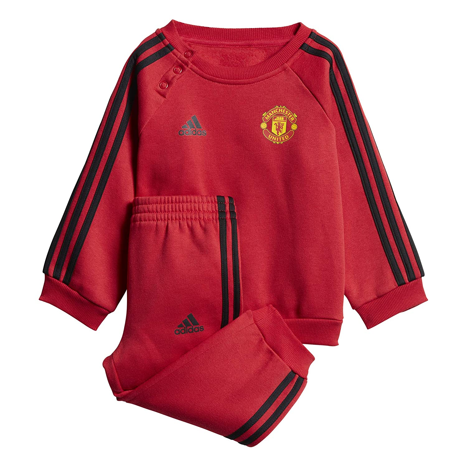 adidas MUFC 3S BBYJOGG - Chándal Manchester United FC: Amazon.es ...