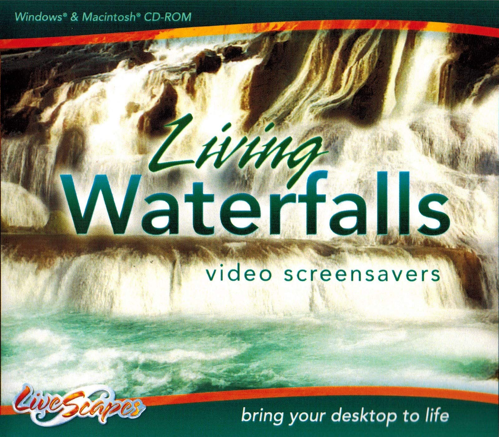 Living Waterfalls Video Screensavers by LivesScapes