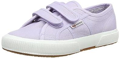 Superga Unisex-Kinder 2750 Cotbumpvel Sneaker, Pink (Pink), 34 EU