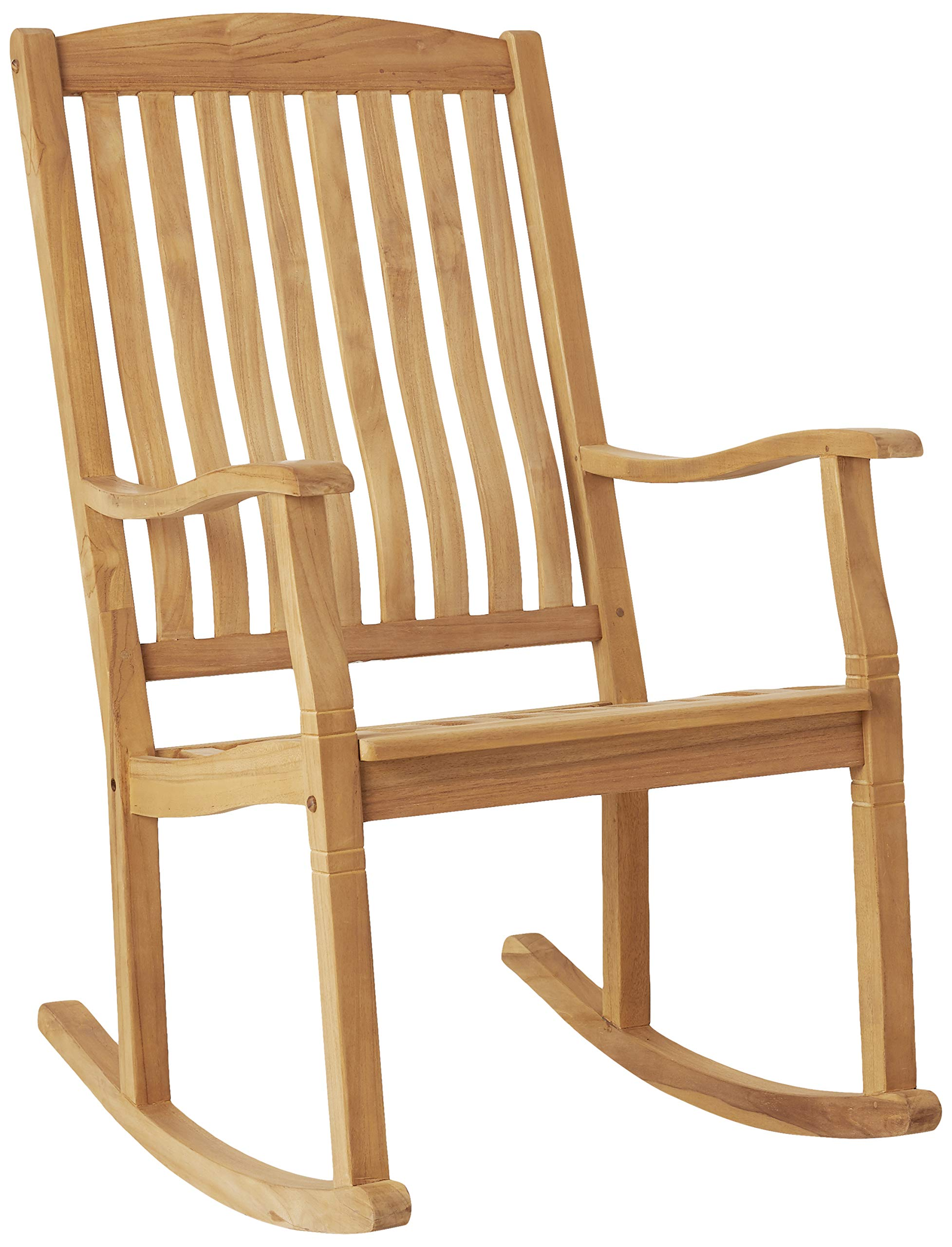 Cambridge-Casual AMZ-130574T Arie Teak Rocking Chair, Natural by Cambridge-Casual