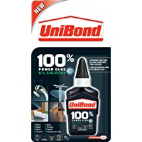 UniBond 100 Percent Power Glue Bottle - 50 g