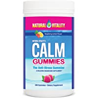 Natural Vitality CALM Gummies the Anti-Stress Gummies, A Relaxing Magnesium Supplement - 240