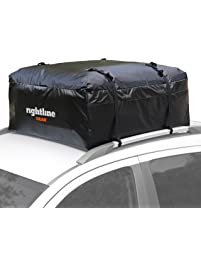 Rightline Gear Ace 1 Car Top Carrier, 12 cu ft, Weatherproof, Attaches with or Without Roof Rack