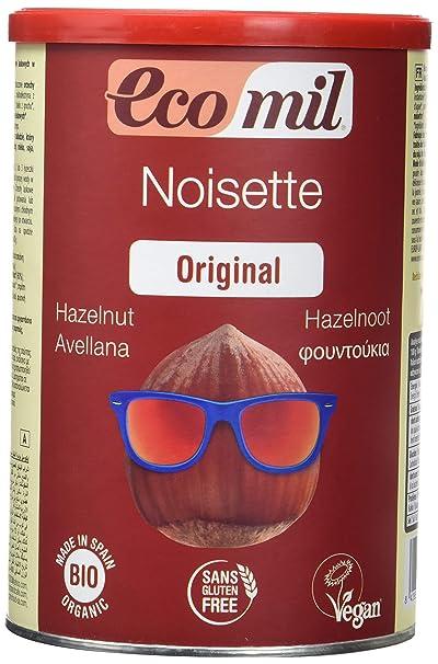 EcoMil Noissette, Bebida instantánea de Avellana en Polvo - 400 gr.
