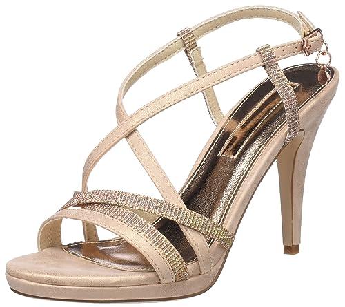 5e18c100 XTI 30695, Sandalia con Pulsera para Mujer, Rosa (Nude), 40 EU: Amazon.es:  Zapatos y complementos