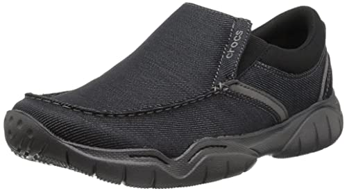 6dc2810d0cf9d6 Crocs Mens Swiftwater Casual Slip on  Amazon.co.uk  Shoes   Bags