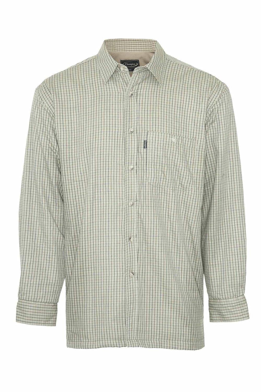 Champion Mens Cartmel Fleece Lined Long Sleeve Shirt MSHIRT-Cartmel-3361