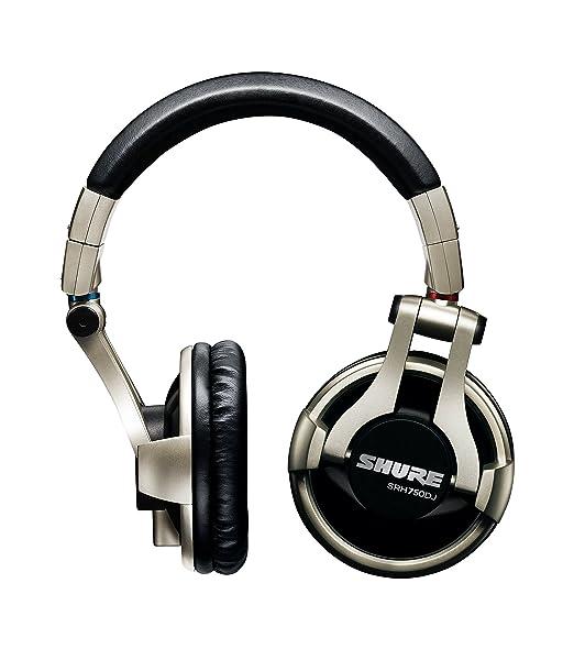 11 opinioni per Shure SRH750DJ Cuffie DJ di Qualità Professionali, Nero/Oro