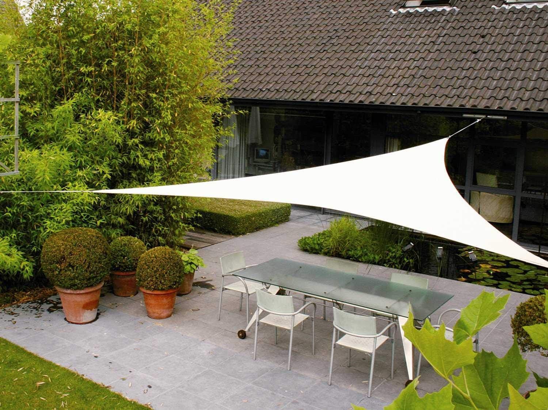 AXT SHADE Toldo Vela de Sombra Triangular 5 x 5 x 5 m, protección ...