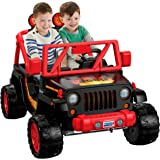 Power Wheels Tough Talking, Jeep Wrangler, Red