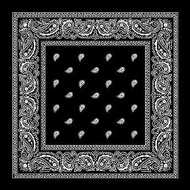 Job lot x 12 navy blue paisley bandanas face covering neckerchief head band
