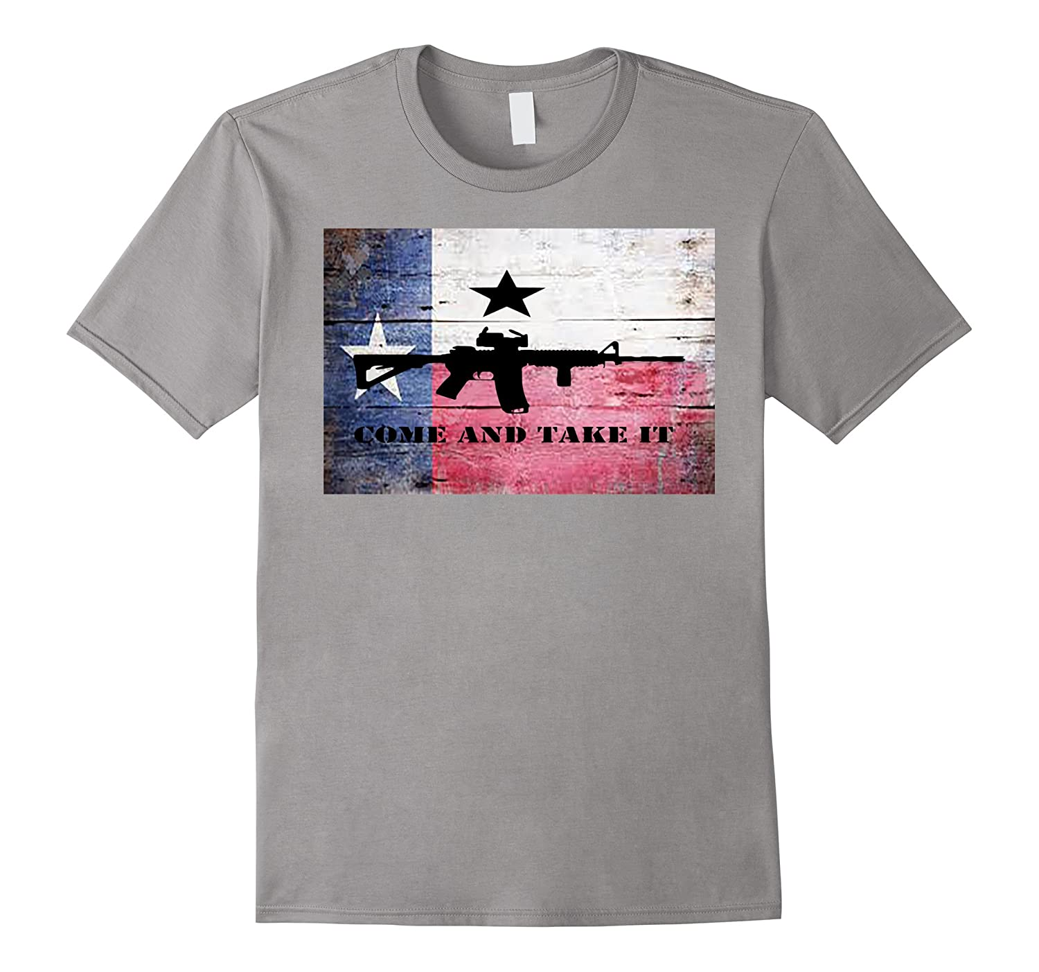 Come And Take it AR-15 Rifle Texas Flag Shirt-T-Shirt