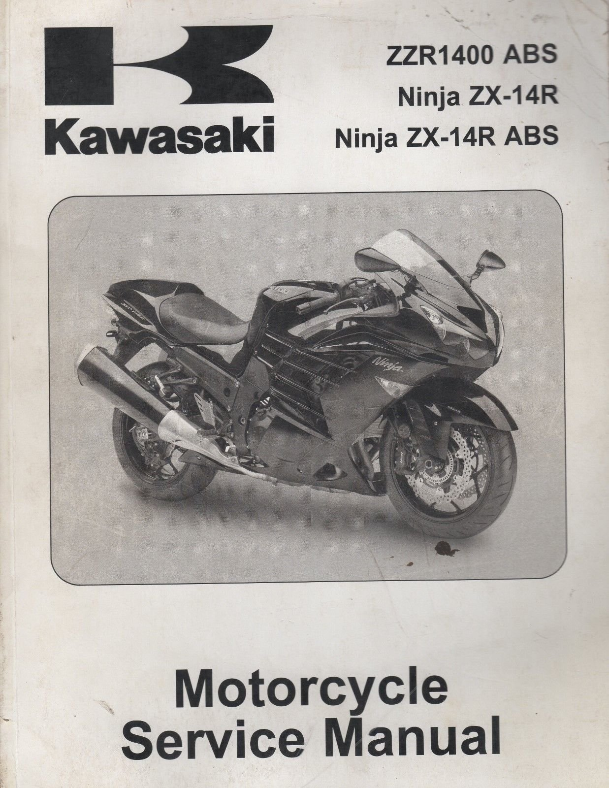 1995-97 Kawasaki Motorcycle Ninja Zx-6R Service Manual: Kawasaki:  Amazon.com: Books