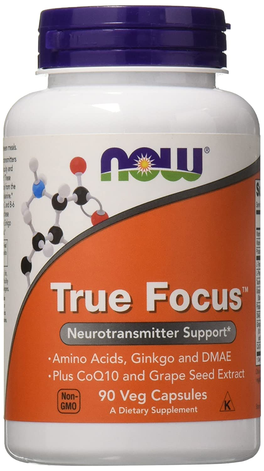 Now Foods True Focus, 90 Veg Capsules 2 Pack