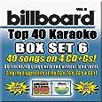 Billboard Top 40 Karaoke Box Set Vol. 6 [4 CD+G][40+40-Song Party Pack]
