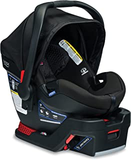 product image for BRITAX B-Safe Ultra Infant Car Seat - Rear Facing | 4 to 35 Pounds - Reclinable Base, 2 Layer Impact Protection, Midnight (E1C009E)
