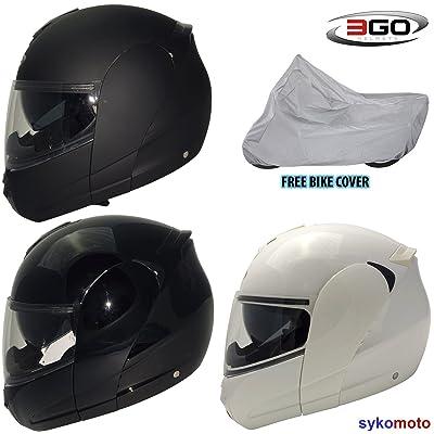 3GO 115à rabat à l'avant pour moto adultes modulaire DVS ECE ACU casque