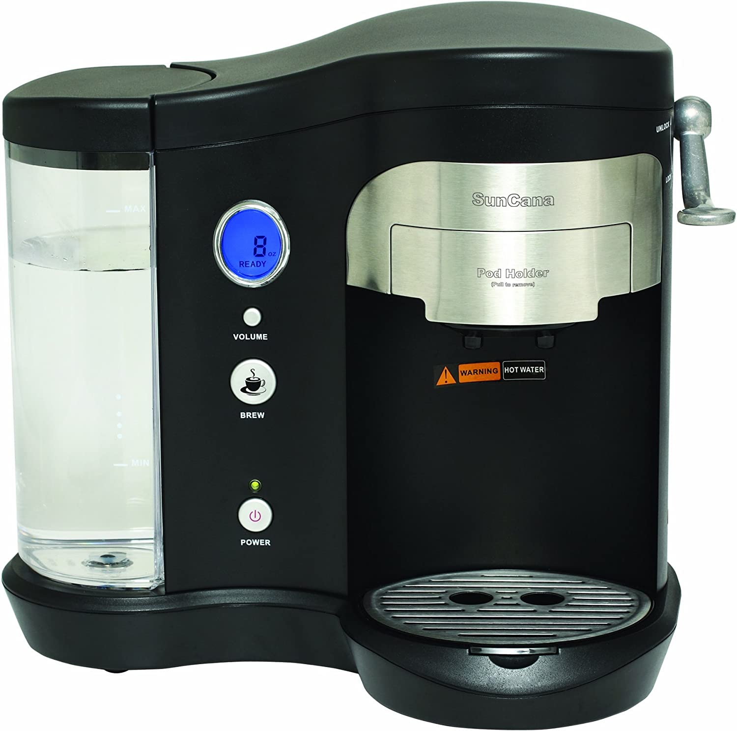 Suncana H701A-BLK Pod Brewer, Black by SunCana: Amazon.es: Hogar