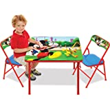 Jakks Mickey Mouse Table & Chairs Set for Kids - Furniture