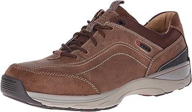Clarks Mens Skyward Vibe Brown - Sneakers