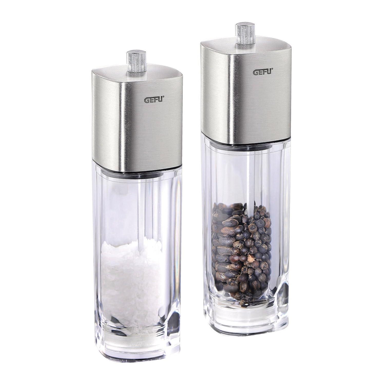 2 Pieces 34620 Accessories for Spices Ceramic Grinder Gefu Pepper and Salt Mill