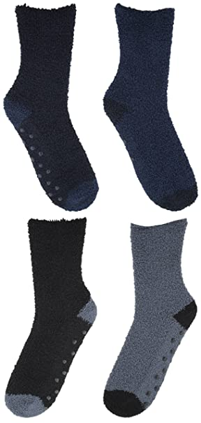 Rjm para hombre 2 Pack Snowsoft calcetines térmicos 4 Pack Multi Talla única