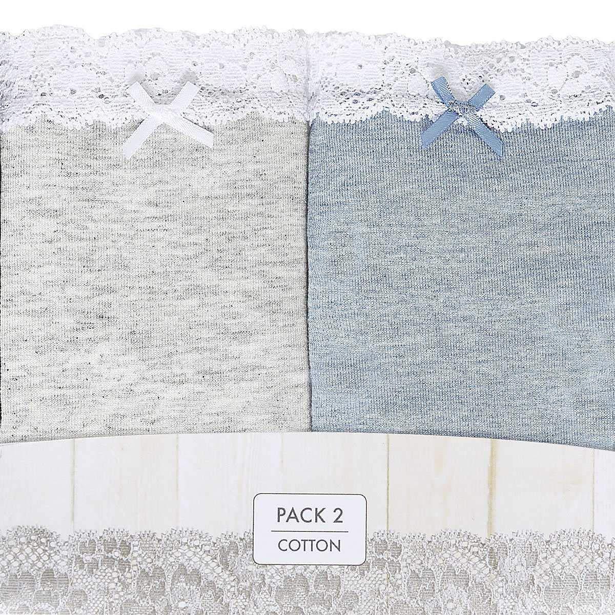JANIRA Bikini brislip Mellow COQUETTES Vi Lace Pack-2 Surtido