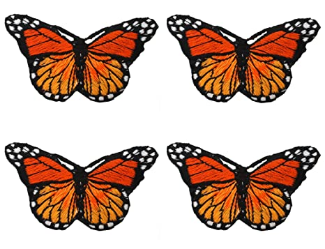 14 PCS Butterfly Patches Iron On Patches Embroidered Sew On Patches Custom Badge Arts Crafts DIY Decor Applique Patches for Backpack Jacket Jeans T-Shirt Cap Shoes Repair Decorative Patches
