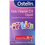 Ostelin Kids Vitamin D3 Liquid – Helps Keep Muscles and Bones Strong, 20 milliliters