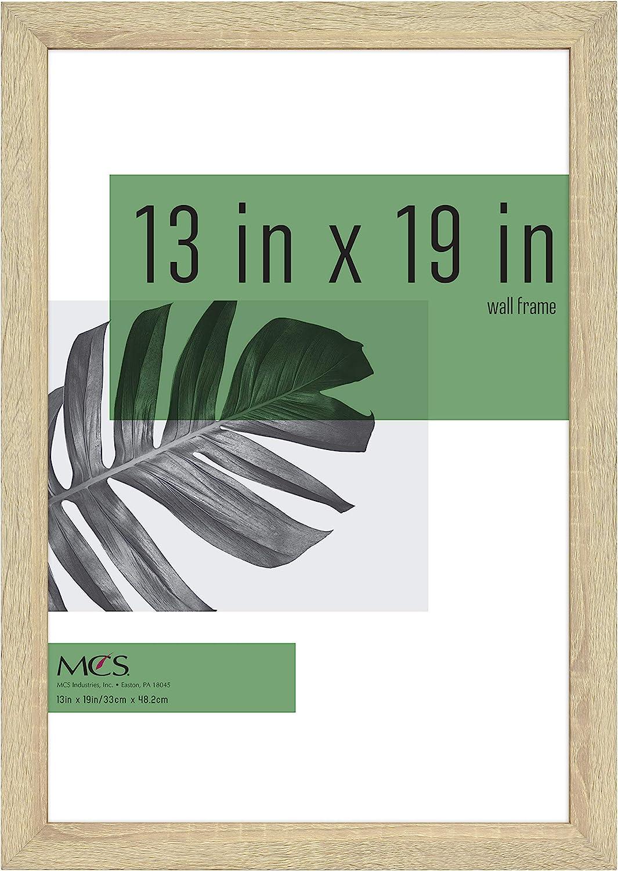 MCS Industries Inc 63728 13x19 Inch Studio Gallery, Natural Woodgrain Frames, 13x19