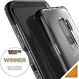 【GEAR4】Samsung Galaxy S9 Plus ケース ブラック 耐衝撃 英国発人気ブランド 英国女王賞受賞のD3Oテクノロジー採用 F1衝撃吸収テスト済 (Galaxy S9+、Piccadilly ブラック)