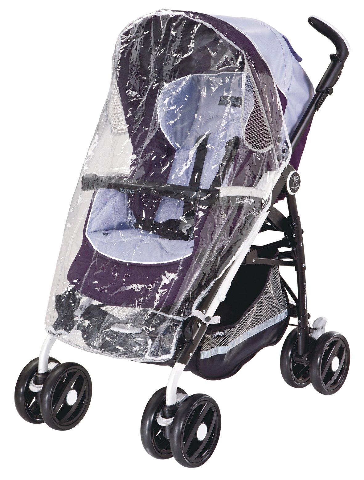 Peg-Pérego PARP3/2010 - Plástico de lluvia universal para silla de paseo,