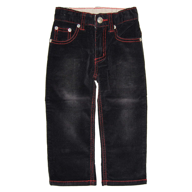 Mini Shatsu Black-Red Roy Corduroy Jeans