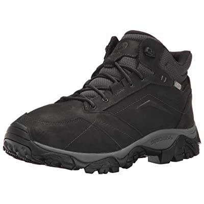 Merrell Men's Moab Adventure Mid Waterproof Hiking Boot, Black, 9.5 M US | Hiking Boots