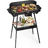 Barbecue électrique Princess 112247 – Avec pied – Grand modèle