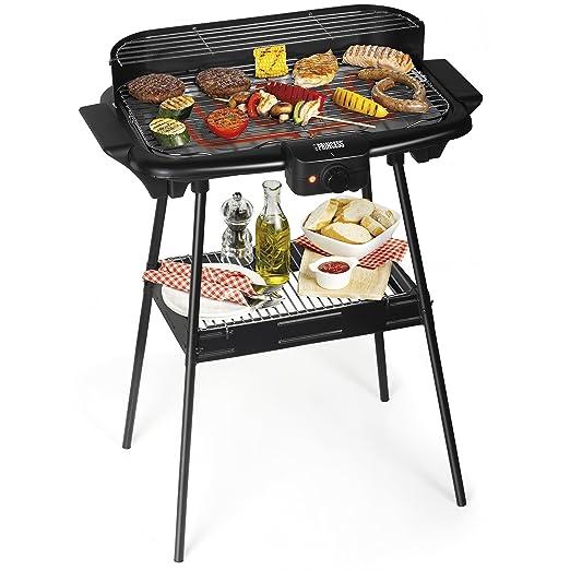 53 opinioni per Barbecue elettrico Princess 112247 – Dotato di supporto – Grandi dimensioni