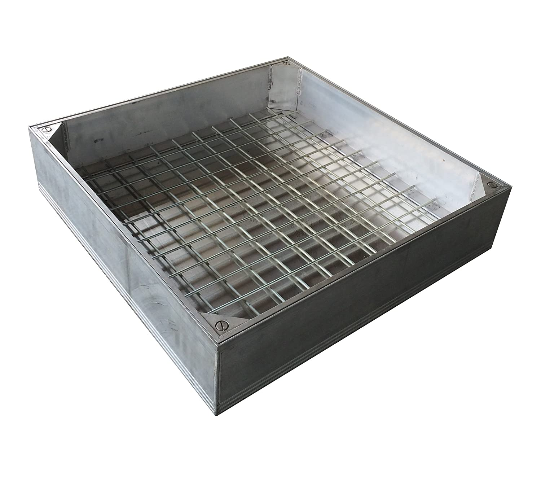 Schachtdeckel Aluminium auspflasterbar 60 x 60 cm PKW befahrbar ...