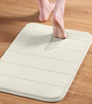 Amazon Com Flamingo P Soft Non Slip Absorbent Bath Rugs Slip