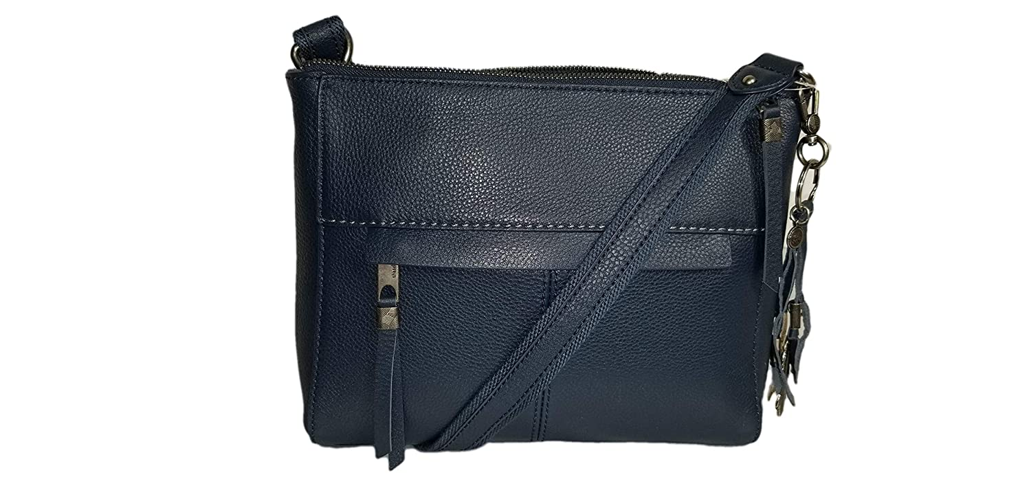 75c8c64f6285 The Sak Alameda Leather Crossbody - Indigo  Handbags  Amazon.com