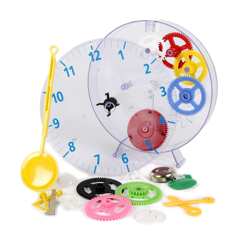 Technoline Geneva Kit de Pendule pour Enfants Transparent//Multicolore