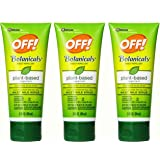 OFF! Botanicals Insect Repellent, 3 Ounce, (Pack of 3)