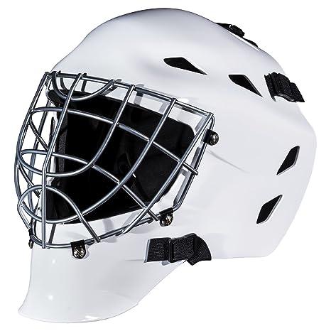 Amazon Com Franklin Sports Hockey Goalie Mask Gfm 1500 White