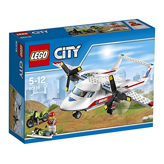 655 opinioni per LEGO City Great Vehicles 60116- Aereo-Ambulanza