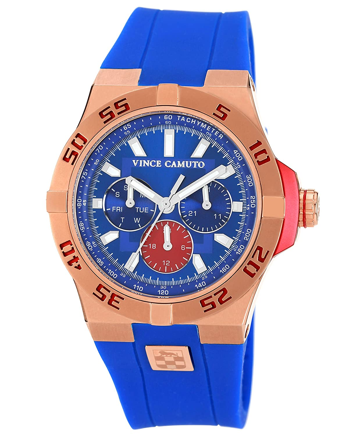 Vince Camuto Mens Vc 1010blrg The Master Stainless Casio Ae 1000w 1a Manamp039s Watch Waterproof Sports Electronic Steel Watches