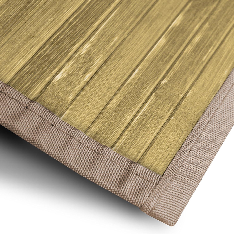 Casa pura Bambusteppich Tibet (Natur)   für Bad und und und Wohnzimmer   natürlich wohnen Bambus   Bambusmatte in vielen Größen (200x300 cm) B01M8G48HX Teppiche 5d4107